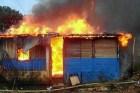 casa fuego1 Hermanitos mueren carbonizados mientras dormían