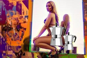 iggy Rapera Iggy Azalea luce su trasero para promover su canción