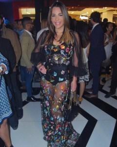 Wow! El vestido transparente de Luz García