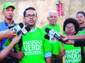 marcha verde1 Movimiento Marcha Verde hará peregrinación nacional
