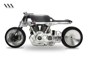 moto Curiosa motocicleta fabricada en NY