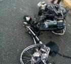 motor Accidente feísimo en competencia de motores
