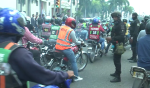 palacio nacional Reperpero en el Palacio Nacional   Motoristas Vs. Policías (video)