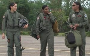 pilotos dominicanas Pilotos dominicanas se destacan en la Fuerza Aérea