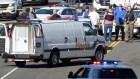 policia capitolio Se arma un reperpero cerca del Capitolio