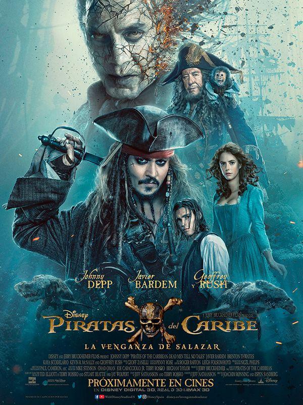 poster Mira el nuevo tráiler de Piratas del Caribe con Jack Sparrow joven