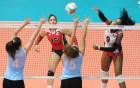 rd uruguay RD da 'pau pau' en internacional de Voleibol