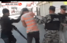 sfm1 Video muestra a policías dando galletas a manifestante