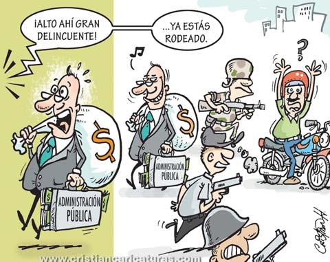"caricatura Caricatura – ""Operativo mixto"""