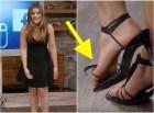 clarissa molina Video: Clarissa Molina pasa vergüenza con zapato ajeno