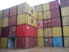 contenedores Un lote de contenedores que llegan a RD, salen vacíos