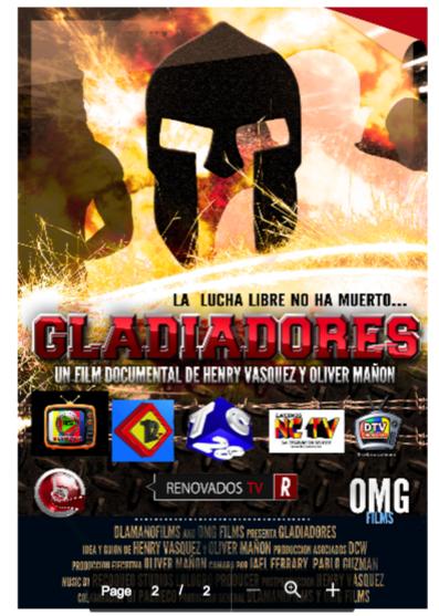 lucha afiche Documental sobre la nueva lucha libre dominicana