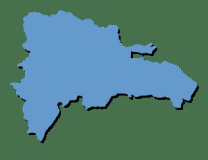 map right RD entre los países cuya reputación mejoró