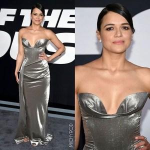michelle rodriguez Michelle Rodriguez fuifuiu en Premiere de Fast 8