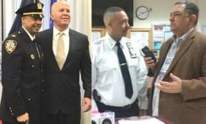 wilson aramboles Ascienden comandante policial dominicano en NY