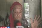 anciana abandonada ''Yo necesito irme de aquí, que me ayuden mi familia''