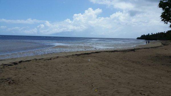 las terrenas1 El mar en Las Terrenas vuelve a su normalidad