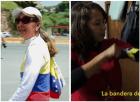 venezuela Venezuela   Marcha de dos mujeres: Opositora Vs. Chavista