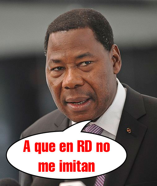 benin ¡¡Presidente destituye TODO su gabinete!! (pero en Benin, no en RD)