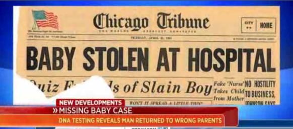 stolen Reabren caso de bebé robado en 1964 porque entregaron bebé equivocado [EEUU]