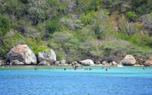 Playa La Ensenada, (Puerto Plata) Norte. Foto por Timoteo Estevez