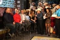 Remo de remolacha, Alipio Coco Cabrera, Joel Santiago, Cantante Mexicana Diana Reyes, y Vilmania Rios