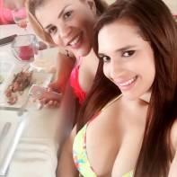 Amelia Alcantara y Wendy Gonzalez Vargas
