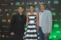 Danilo Reynoso, Evelyna Rodriguez y Fernando Baez