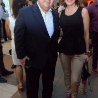 Dr. Jose Plaza y Geraldine Grisanti
