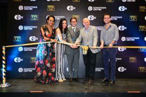 corte de cinta Paseo de la fama para estrellas dominicanas