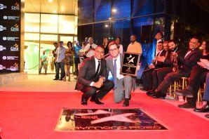 homenaje a raymond pozo Paseo de la fama para estrellas dominicanas