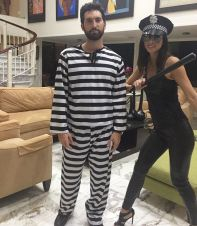 Principe Karim y su jeva Ashley Tru