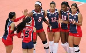 reinas del caribe 300x188 Reinas del Caribe ganan en inicio Copa Panam Voleibol