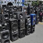bocinas1 150x150 Le aguaron la fiesta a mucha gente en RD