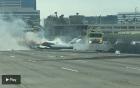 California 300x189 Se estrella una avioneta en California (video)
