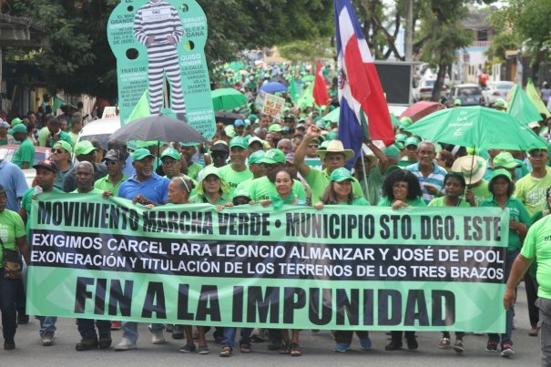 Marcha Verde 1 Interpelar a Danilo y cárcel pa ex director de CORDE