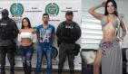 Paulina Karina Díaz 300x175 Le echan mano a la modelo secuestra hombres en Colombia (video)