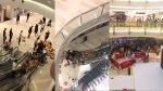 Se armó un rebulú en centro comercial en China por unos tenis