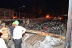 fuego 2 150x99 Lo más reciente del camión incendiado en Haina
