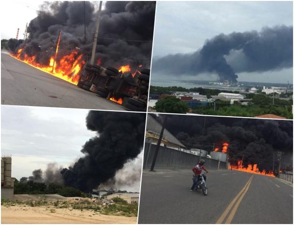 haina camion Camión tanquero explota en Haina: Lo que se sabe