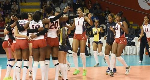 """reinas Mangú Power! Las """"Reinas del Caribe"""" avanzan invictas a semifinales"""