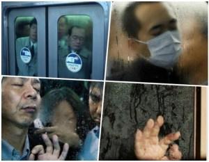 tokio metro 300x233 La crema! – Viajando en el Metro de Tokio (Fotos)