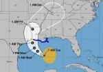 tormenta louusuana 150x105 Costa de Louisiana en alerta por tormenta tropical