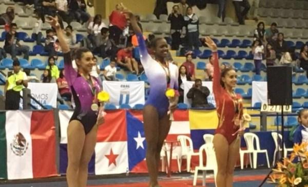 yamilet 600x364 ¡Plátano Power! Yamilet Peña ganó medalla de oro en Guatemala