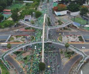 Capture 300x250 La Marcha Verde desde el aire