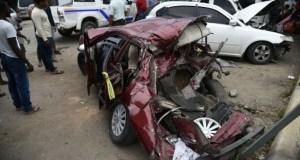 Los Alcarrizos 300x160 Accidente múltiple en Los Alcarrizos; un muerto y cuatro heridos