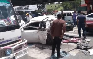 Los Alcarrizos 300x191 Identifican víctima mortal accidente de Los Alcarrizos (video)