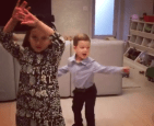 Trump 3 300x244 Video   Los carajitos de Ivanka Trump bailando Despacito