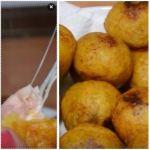 bolas platano 150x150 Wepa! Bolas de plátano maduro rellenas de jamón y queso