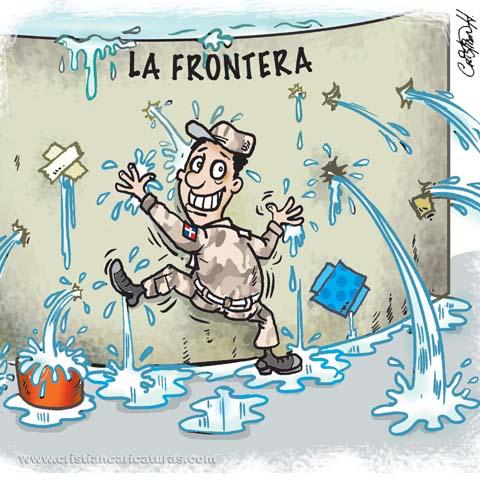 caricatura 1 Caricatura: La frontera controlada...
